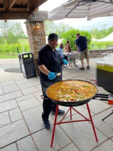 Paella On The Patio