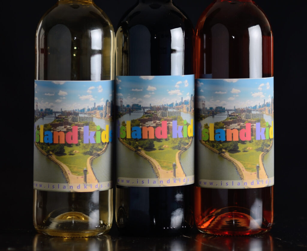 Virtual Wine Tasting Fundraisers with custom labeled wine bottles from Old York Cellars