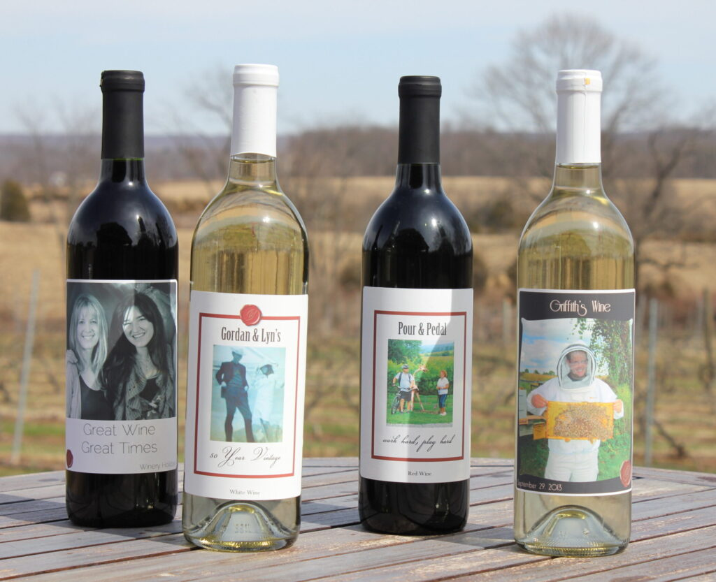Create you own special wine label