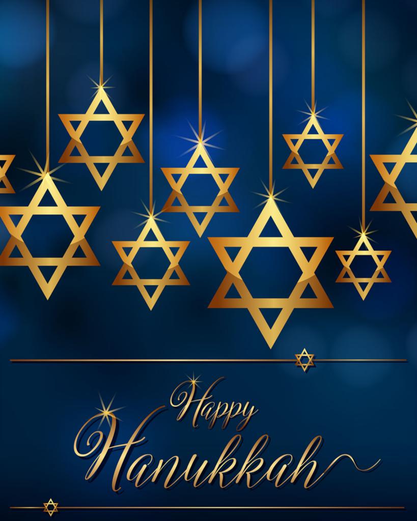 Happy Hanukkah Label #2