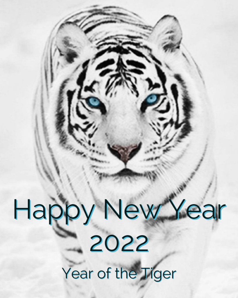 Happy New Year 2022, Year of the Tiger