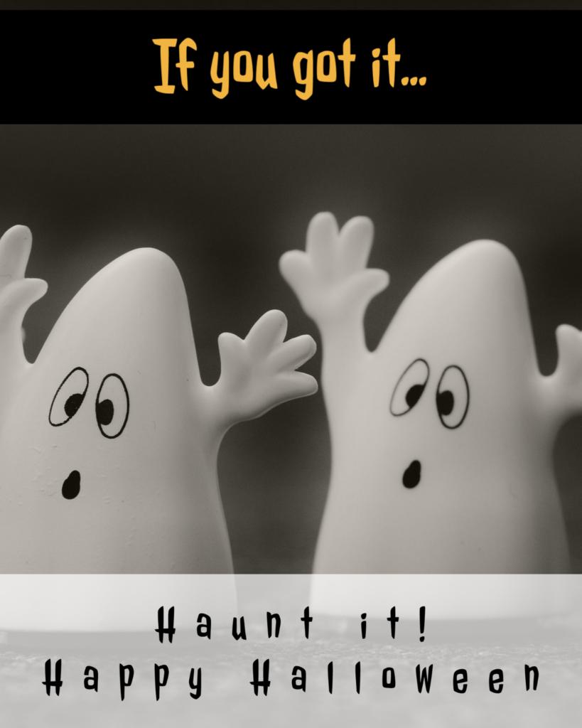 If You Got It, Haunt it, Happy Halloween