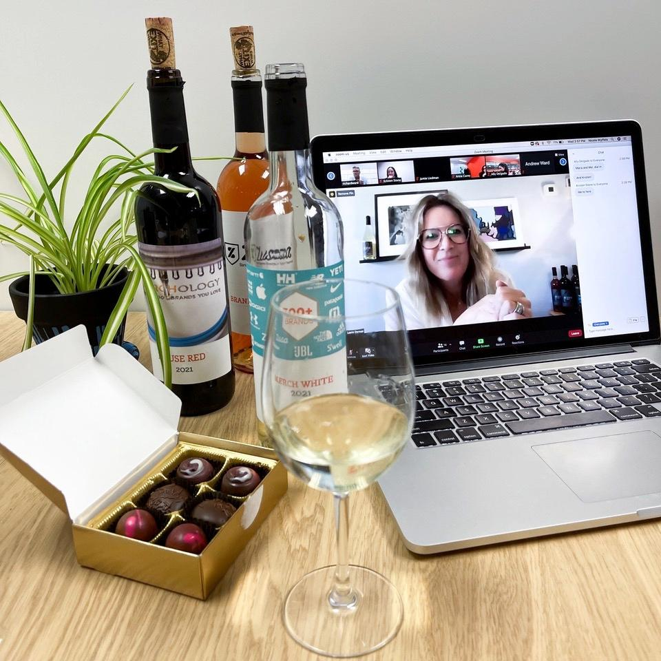 Virtual Wine Tasting Fundraisers and Corporate Virtual Wine Tasting Experiences