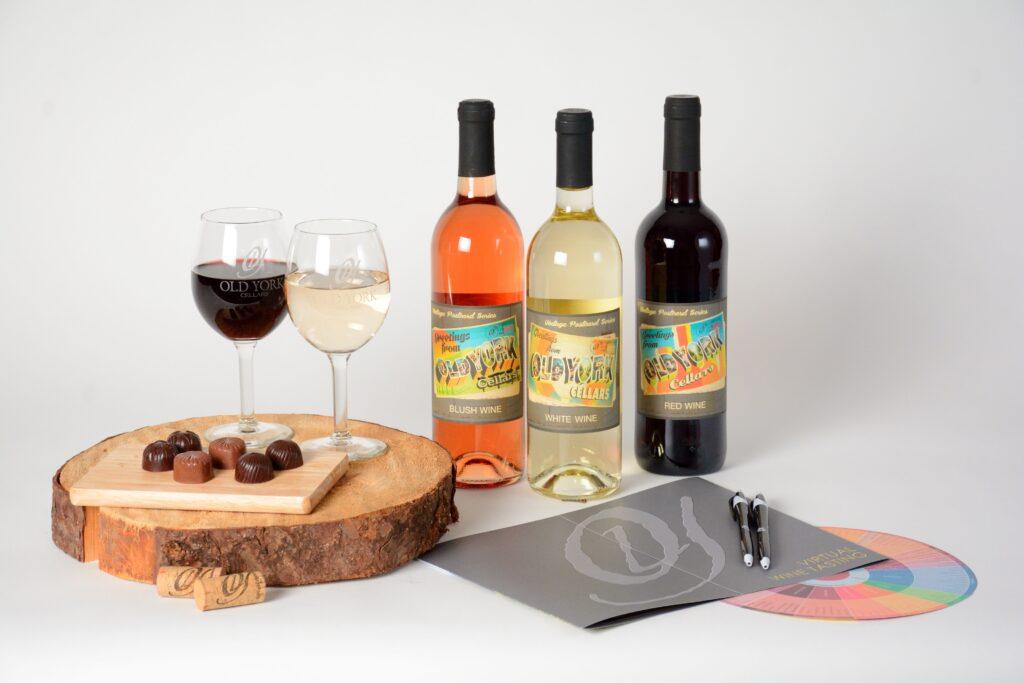 Virtual Wine Tasting Kits from Old York Cellars