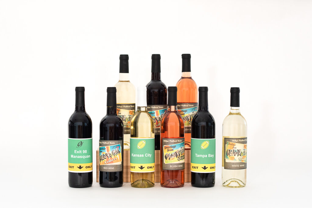 What Exit Wines Customizable Wine Labels