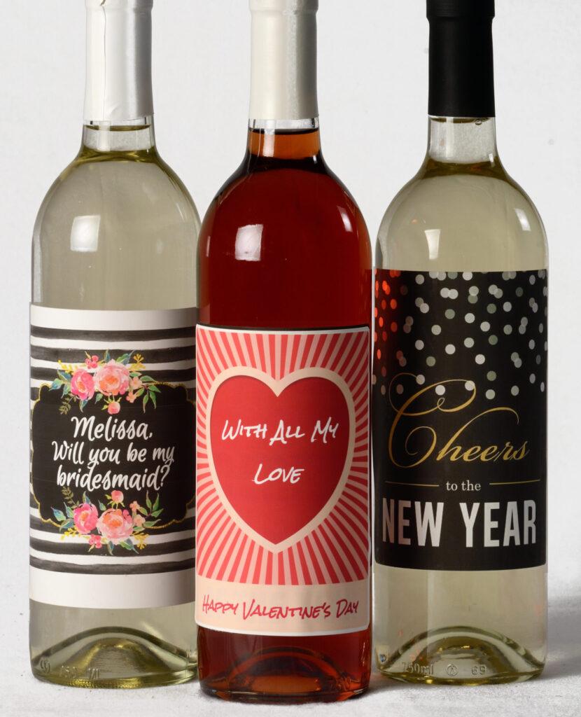 Custom Labeled Wines